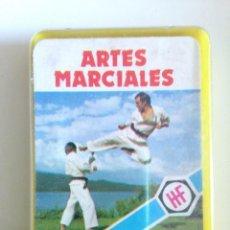 Barajas de cartas: 1978 HERACLIO FOURNIER CARTAS MINI ARTES MARCIALES CUBIERTA. COMPLETA. Lote 58620985