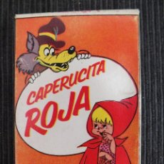 Baralhos de cartas: CAPERUCITA ROJA , BARAJA INFANTIL DE 31 CARTAS COMPLETA - NAIPES COMAS - 1968 - MUY BIEN CONSERVADA. Lote 58635709