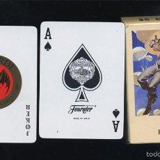 Barajas de cartas: BARAJA CARTAS PROPAGANDA DE RON BACARDI FOURNIER 50 NAIPES NUEVA. Lote 58657466