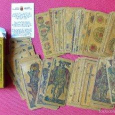Barajas de cartas: BARAJA DE CARTAS PARA PLACENTINA - ITALIA SIGLO XIX - FACSIMIL - NUEVA SIN USO. Lote 58718771
