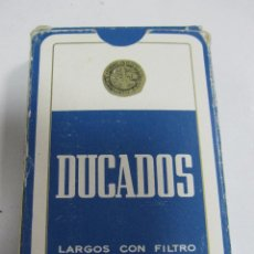 Jeux de cartes: BARAJA DE CARTAS. PUBLICITARIA. TABACO DUCADOS. NAIPES COMAS. POKER. Lote 58723071