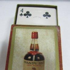 Barajas de cartas: BARAJA DE CARTAS. PUBLICITARIA. BRANDY 1810. PRECINTADA. CON CAJA. Lote 58723111