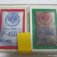 Barajas de cartas: BARAJA DE CARTAS DOBLE. PUBLICITARIA. PORTLAND IBERIA S.A. P-450-B Y P-350. POKER. CON CAJA. Lote 58724943