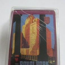 Barajas de cartas: BARAJA DE CARTAS. CON CAJA. PUBLICITARIA. ROYAL TORK. TORONTO, CANADA. POKER.. Lote 58725171