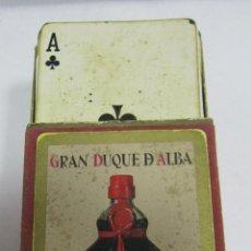 Barajas de cartas: BARAJA DE CARTAS. PUBLICITARIA. GRAN DUQUE DE ALBA. ZOILO RUIZ-MATEOS. POKER. CON CAJA. Lote 58726031