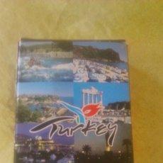 Barajas de cartas: BARAJA DE CARTAS DE POKER CON IMÁGENES DE TURQUIA,NUEVAS CON EL PRECINTO.. Lote 58731278