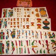 Barajas de cartas: BARAJA LA FLOR DE CADIZ JUAN ROURA 1939 48 NAIPES. Lote 58777346