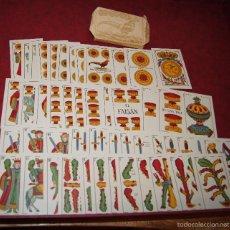 Barajas de cartas: BARAJA 48 NAIPES EL FAISAN MANILA HIJA DE ANTONIO COMAS BARCELONA 1934. Lote 58777766