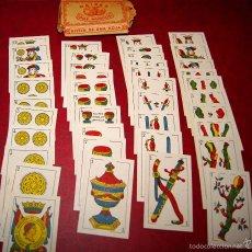 Barajas de cartas: BARAJA NAIPES DOS MUNDOS 40 NAIPES JUAN ROURA BARCELONA LA HISPANO AMERICANA 1939. Lote 58779686
