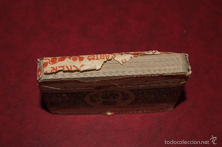 Barajas de cartas: BARAJA POCKER Nº 16 L. GUARRO BARCELONA 1918-1925 48 NAIPES - Foto 3 - 58780501