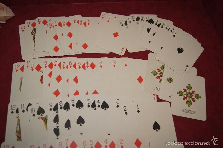 Barajas de cartas: BARAJA JUEGO DE LA RUEDA BOSQUE Nº 33 74 NAIPES VDA E HIJOS H. FOURNIER 1918-1925 - Foto 3 - 58782236