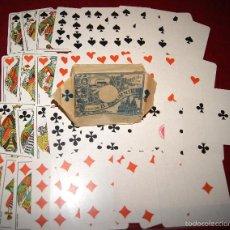 Barajas de cartas: BARAJA POKER 52 NAIPES LOS ESCUDOS HIJOS DE BRAULIO FOURNIER 1918. Lote 58783581