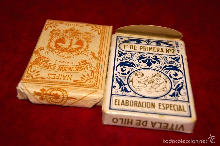Barajas de cartas: BARAJA 48 NAIPES DOS VENADOS MANILA HIJA DE ANTONIO COMAS BARCELONA 1934 - Foto 5 - 58784056
