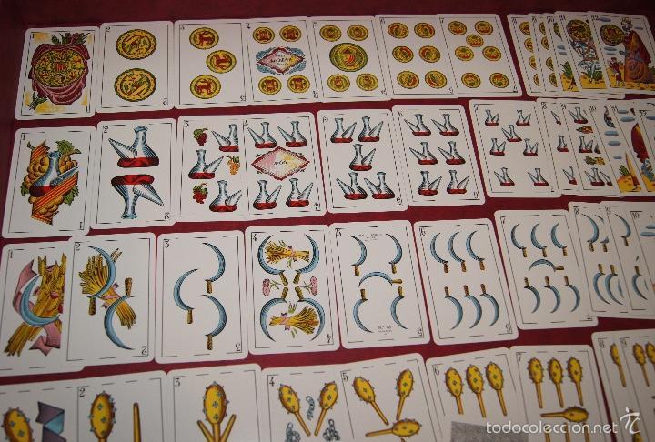 BARAJA 48 NAIPES VISCA CATALUNYA HERACLIO FOURNIER 1970 (Juguetes y Juegos - Cartas y Naipes - Otras Barajas)
