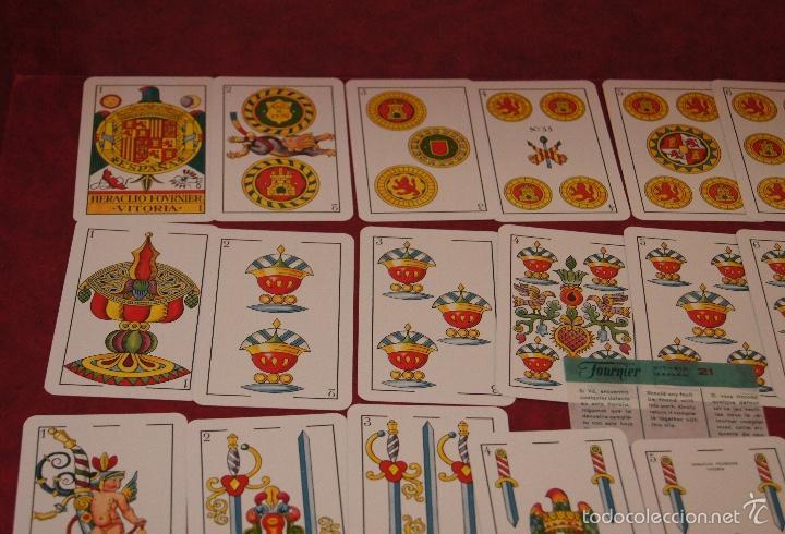 BARAJA 48 +2 NAIPES HERACLIO FOURNIER 1964 (Juguetes y Juegos - Cartas y Naipes - Otras Barajas)