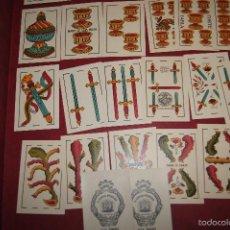 Barajas de cartas: BARAJA 40 + 2 NAIPES DOS TOROS JUAN ROURA BARCELONA 1940. Lote 58813471