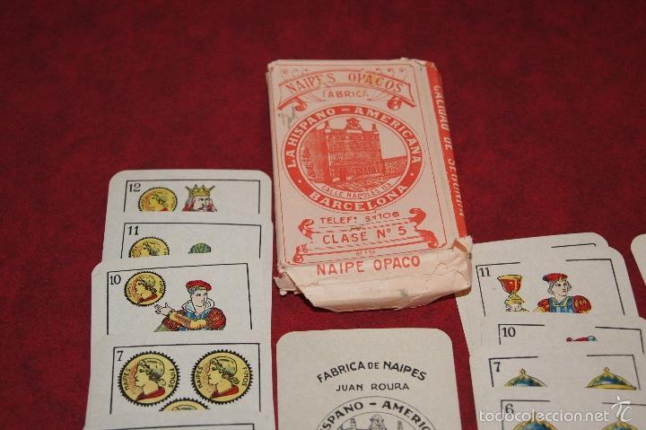 BARAJA 40 + 2 NAIPES JUAN ROURA LA HISPANO AMERICANA 1932 (Juguetes y Juegos - Cartas y Naipes - Otras Barajas)