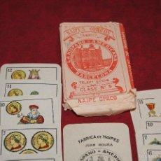 Barajas de cartas: BARAJA 40 + 2 NAIPES JUAN ROURA LA HISPANO AMERICANA 1932. Lote 58814346