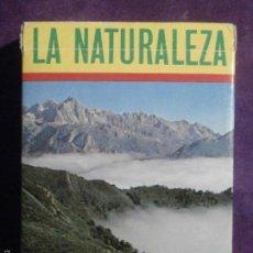 Barajas de cartas: BARAJA DE CARTAS - LA NATURALEZA - EDUCATIVA - FOURNIER - C / CAJA ORIGINAL E INTRUCCIONES -. Lote 58834851