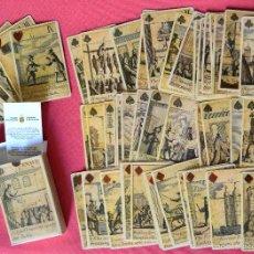 Barajas de cartas: BARAJA REVOLUCIÓN - ISLAS BRITANICAS SIGLO XVII - REPRODUCCIÓN DEL ORIGINAL DEL MUSEO FOURNIER. Lote 58881706