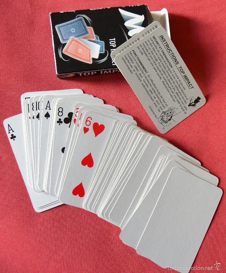 BARAJA DE CARTAS PARA MAGIA - MAGIC - TOP IMPACT - SIN USO (Juguetes y Juegos - Cartas y Naipes - Otras Barajas)