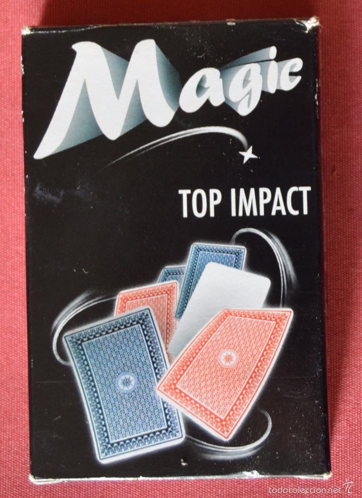 Barajas de cartas: BARAJA DE CARTAS PARA MAGIA - MAGIC - TOP IMPACT - SIN USO - Foto 2 - 58885071
