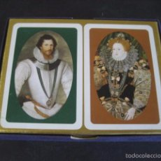 Barajas de cartas: DOBLE BARAJA POKER WADDINGTONS (LONDON). HER MAJESTY THE QUEEN. Lote 58950745