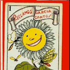Barajas de cartas: CARTA AS DE OROS OBSEQUIO CHOCOLATE NOGUEROLES GANDIA Nº 38 LIT M.GARCIA VALENCIA OFERTA SOLO HOY. Lote 58965885
