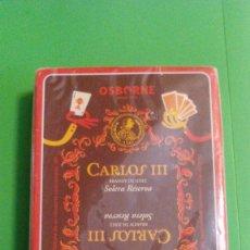 Barajas de cartas: BARAJA ESPAÑOLA FOURNIER, CARLOS III, OSBORNE. Lote 58985525