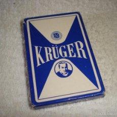 Barajas de cartas: BARAJA CARTAS, HERACLIO FOURNIER - KRUGER. 40 NAIPES.. Lote 59663359