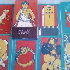 Barajas de cartas: TAROT ORACULO DE FATIMA. Lote 59696819