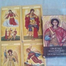 Barajas de cartas: TAROT EL ORACULO DE LOS ANGELES. Lote 74621962