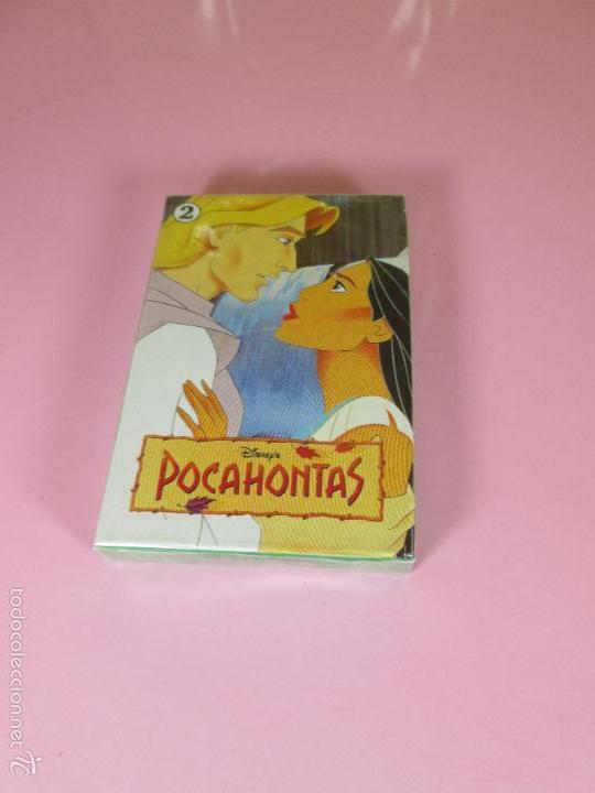 BARAJA-ESPAÑA-POCAHONTAS 2-HERACLIO FOURNIER-DISNEY-PRECINTADA-VER FOTOS. (Juguetes y Juegos - Cartas y Naipes - Barajas Infantiles)