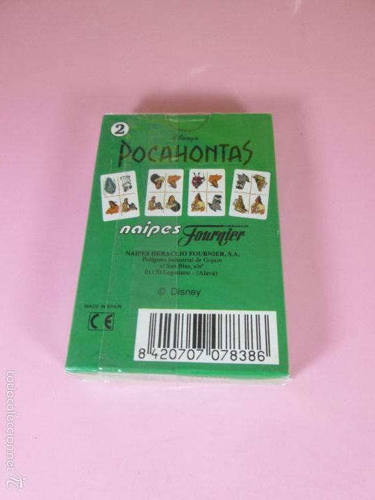 Barajas de cartas: BARAJA-ESPAÑA-POCAHONTAS 2-HERACLIO FOURNIER-DISNEY-PRECINTADA-VER FOTOS. - Foto 4 - 59808240