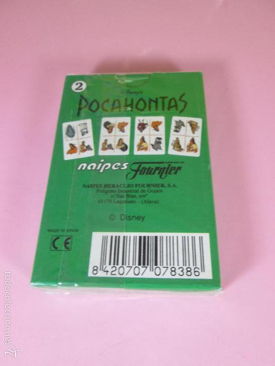 Barajas de cartas: BARAJA-ESPAÑA-POCAHONTAS 2-HERACLIO FOURNIER-DISNEY-PRECINTADA-VER FOTOS. - Foto 5 - 59808240
