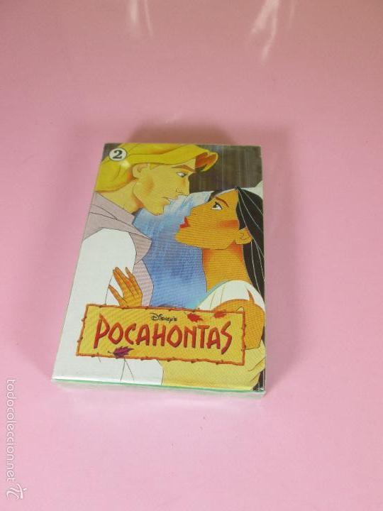 Barajas de cartas: BARAJA-ESPAÑA-POCAHONTAS 2-HERACLIO FOURNIER-DISNEY-PRECINTADA-VER FOTOS. - Foto 6 - 59808240