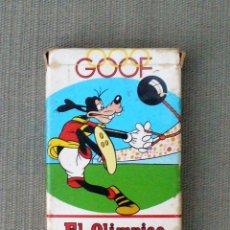 Barajas de cartas: BARAJA - GOOF EL OLIMPICO- HERACLIO FOURNIER, WALT DISNEY 1972. Lote 60086615