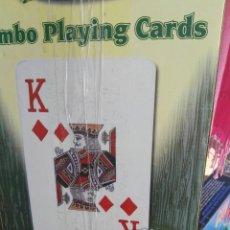Barajas de cartas: BARAJA CARTAS POKER. GIGANTES. Lote 60156751