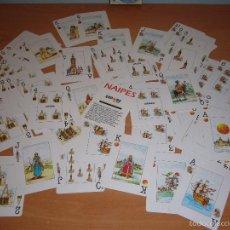 Barajas de cartas: CARTAS-BARAJA EXPO 92-1992-FIGURA JESÚS-MARÍA-MONJA-SANTO-ÁNGEL-NAVIDAD-COMUNIÓN-ASI-MUÑECA. Lote 60391387