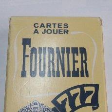 Barajas de cartas: BARAJA POKER FOURNIER FRANCESAS NO USADAS - TDKC37. Lote 60498425