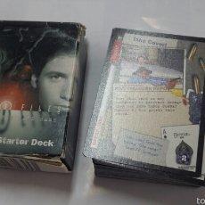 Barajas de cartas: THE X FILES 60 CARD - EXPEDIENTE X - 1996 - TDKC37. Lote 60499239
