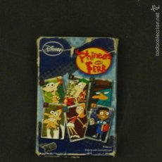 Barajas de cartas: BARAJA INFANTIL FOURNIER DISNEY PHINEAS AND FERB MADE IN SPAIN . Lote 60500011