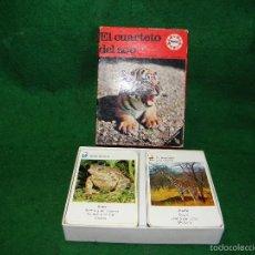 Barajas de cartas: BARAJA EL CUARTETO DEL ZOO DE EDUCA. Lote 60534823