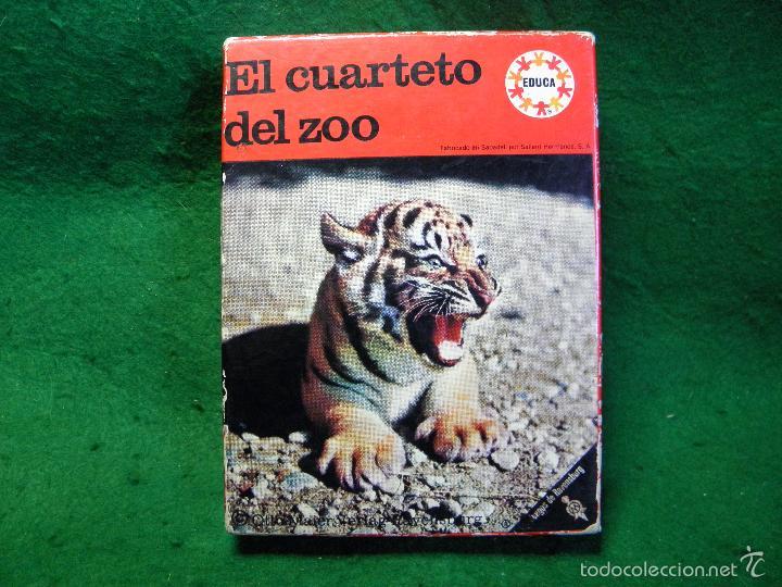 Barajas de cartas: BARAJA EL CUARTETO DEL ZOO DE EDUCA - Foto 5 - 60534823