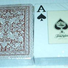 Barajas de cartas: LOTE DE 2 BARAJAS FOURNIER DE POKER - SIN ABRIR IMPECABLES-LEER DESCRI Y ENVIO. Lote 60571355
