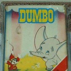 Barajas de cartas: BARAJA FOURNIER - DUMBO DE DISNEY - 33 CARTAS - LEER DESCRIP. Y MODO ENVÍO.. Lote 60587915