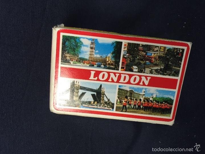 Barajas de cartas: baraja poker naipes souvenir london made in hong kong 1,8x9x6cms - Foto 2 - 60595111