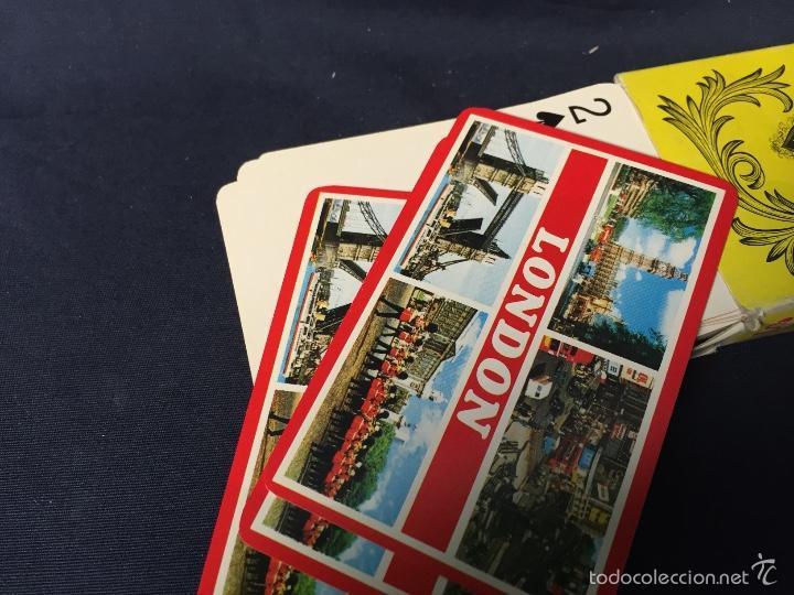Barajas de cartas: baraja poker naipes souvenir london made in hong kong 1,8x9x6cms - Foto 4 - 60595111