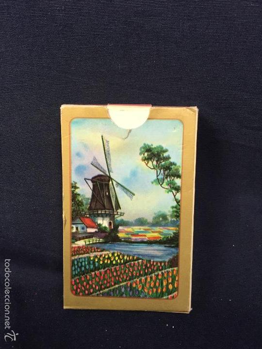 BARAJA NAIPES POKER CARTA MUNDI TURNHOUT BELGIUM 1,8X9X5,8CMS (Juguetes y Juegos - Cartas y Naipes - Barajas de Póker)