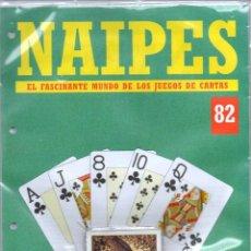 Barajas de cartas: NAIPES EL FASCINANTE MUNDO DE LOS JUEGOS DE CARTAS. FOURNIER ALTAYA. FASCÍCULO COMPLETO Nº 82. Lote 60717287